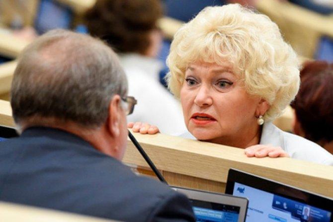 Сенатор Нарусова предложила …