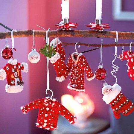 Интересные варианты новогоднего декора