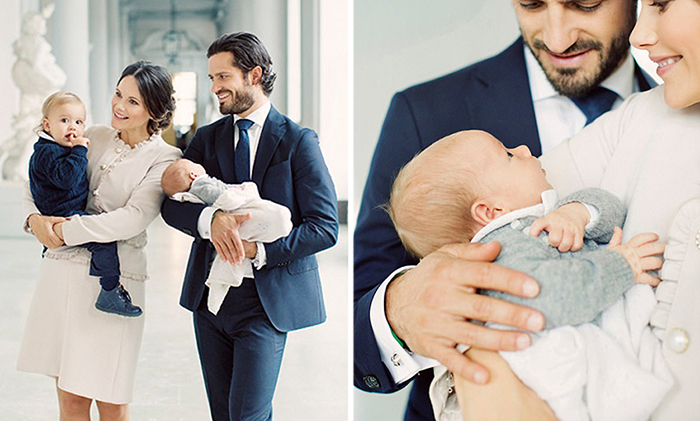 Его королевское милашество принц Габриель: Новые фотографии новорожденного принца Швеции