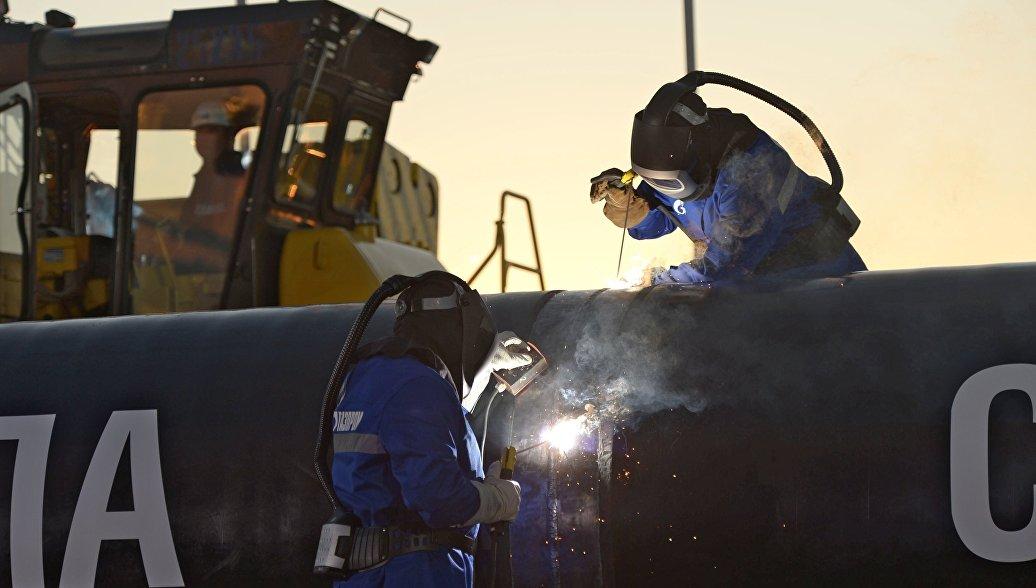 Сотрудничество РФ и Китая: Газпром построил 745 км «Силы Сибири»