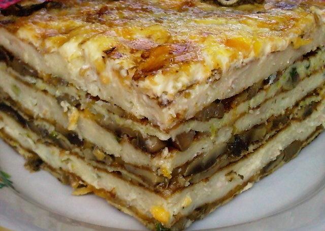 Это блюдо Вы будете готовить постоянно – закусочный торт «Княжий»