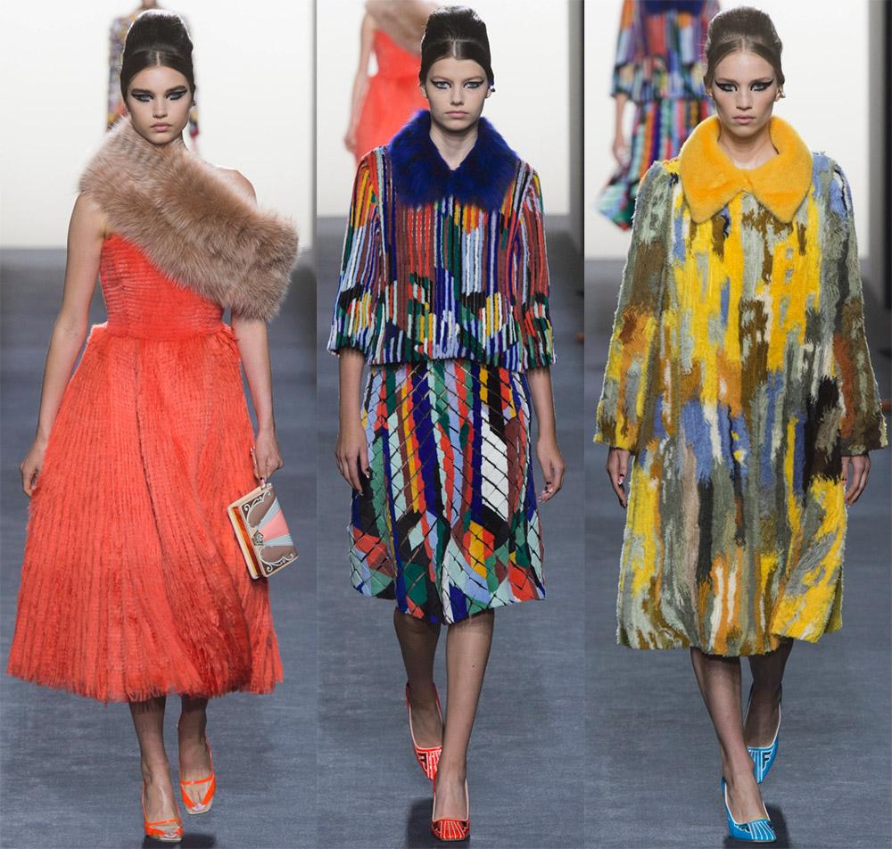 Женская мода осень-зима 2018-2019 от Fendi