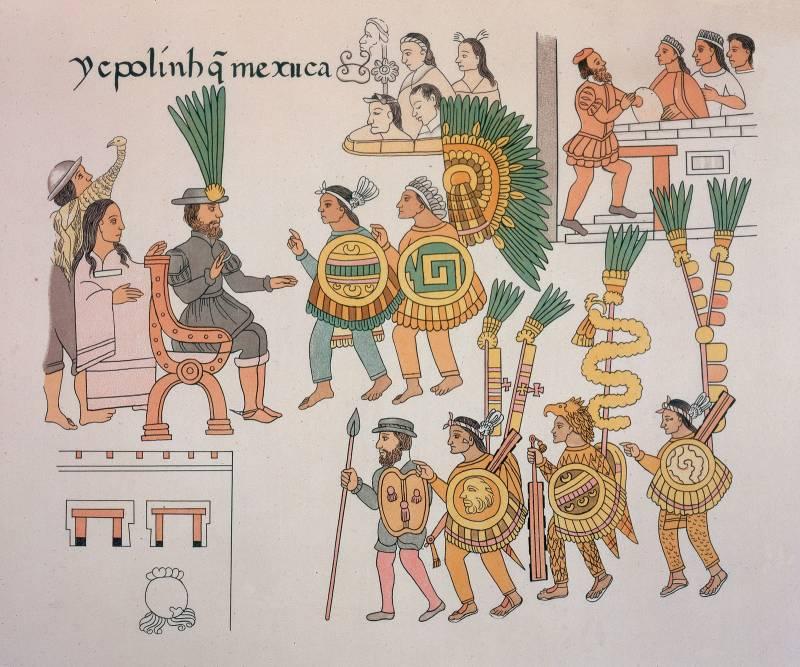 Мексиканские воины-орлы и воины-ягуары против испанских конкистадоров. Древние кодексы рассказывают (часть четвертая)
