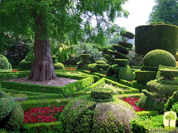 Сад Левенс Холл – самый красивый и самый ароматный сад в мире, Англия - 2