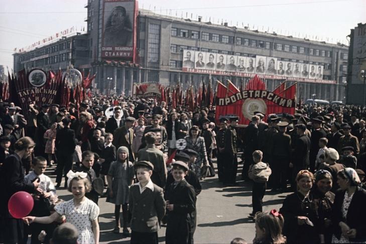 Москва при Сталине (видео)