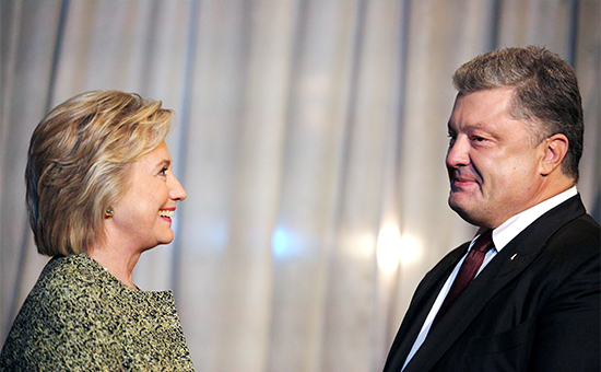 Трамп не простил Порошенко поддержки Клинтон. Александр Роджерс