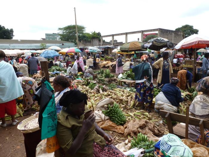Кенийский рынок.
