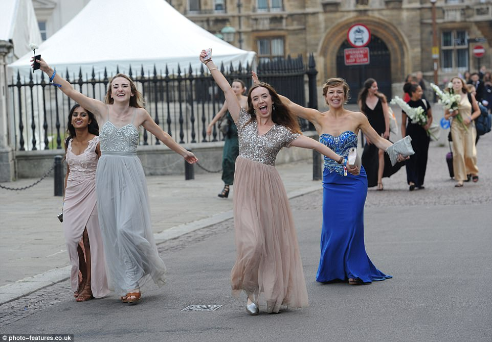 Annual tradition: Trinity May Ball is held on the first Monday of May Week, which always takes place in June after exams