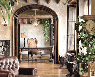 Рустикальный стиль в интерьере