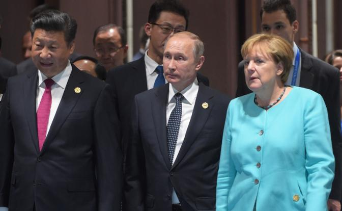 Путин, Меркель и Си позволят…