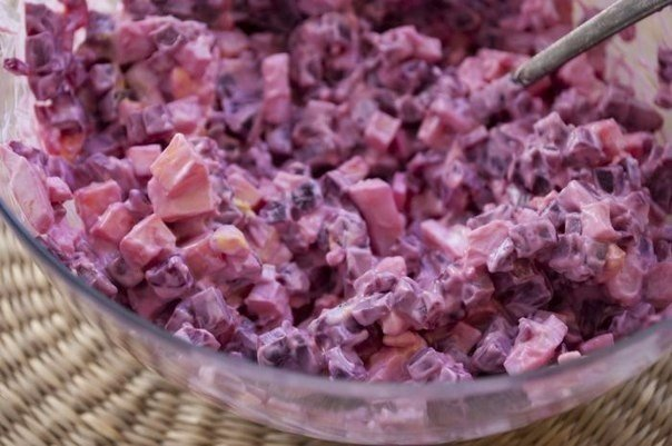 Мой любимый легкий свекольный салатик: удивительно простой и вкусный!