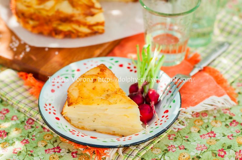 A Slice of Layered Potato Bake