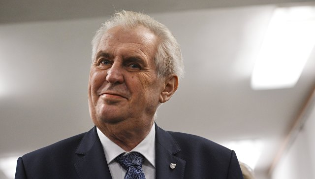 Президент Чехии вноябре посетит Израиль