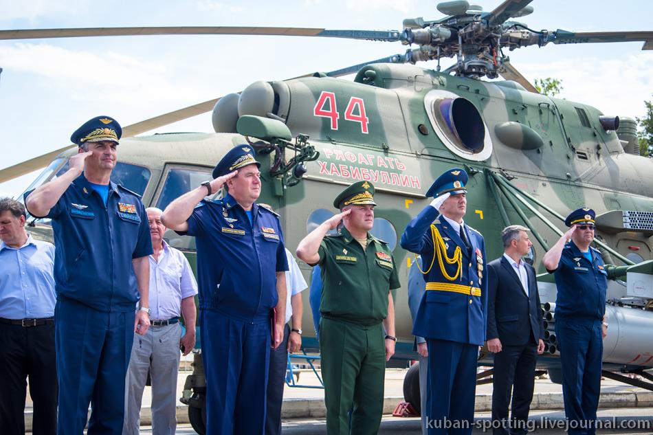 """Вертолет Ми-8АМТШ получил название """"Ряфагать Хабибуллин"""""""