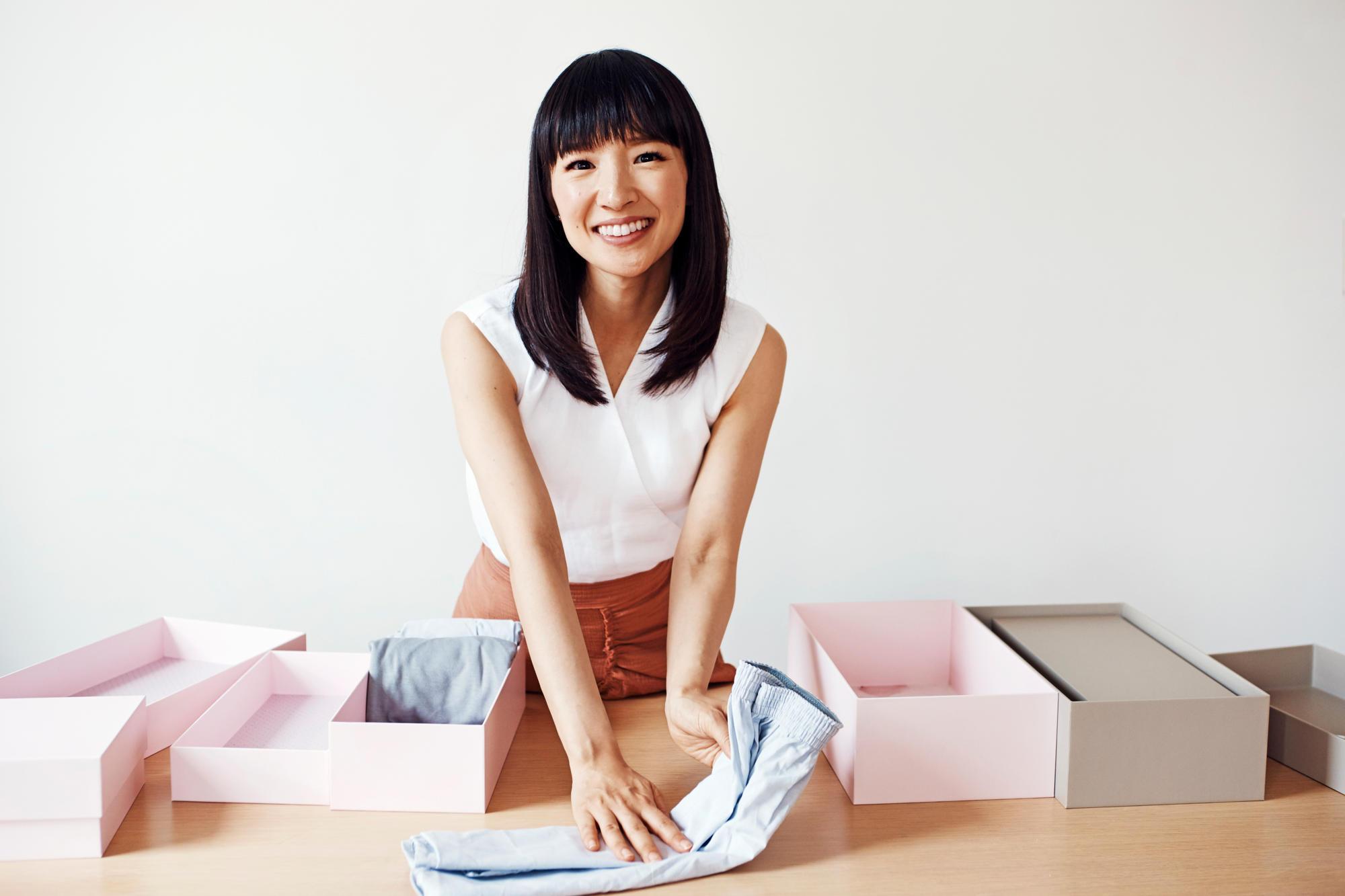 Наведите порядок всвоей жизни: 6 топ-советов отгуру Мари Кондо, как правильно организовать пространство