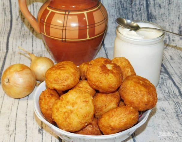Пышки картофельные с сыром