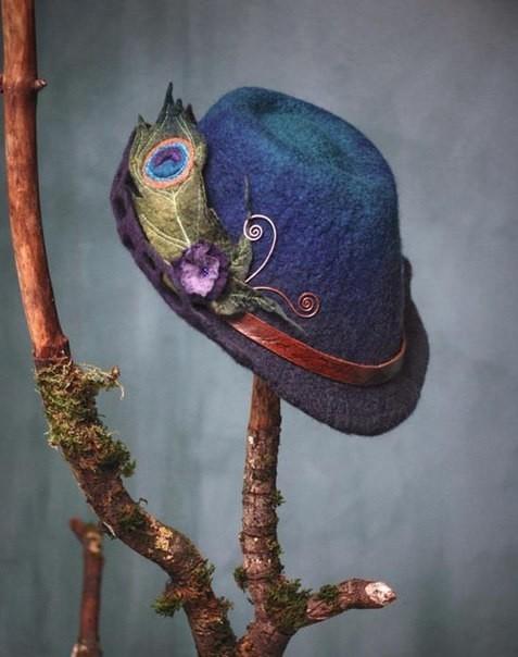 Валяные эльфийские шляпки от…