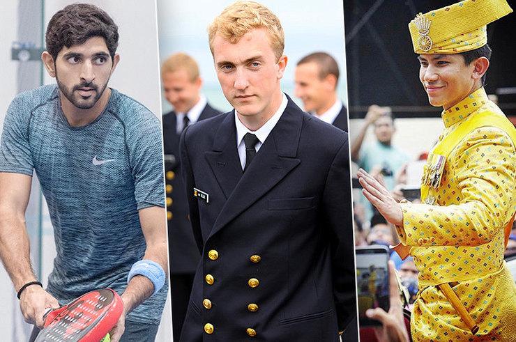 Топ принцев-холостяков из разных стран мира