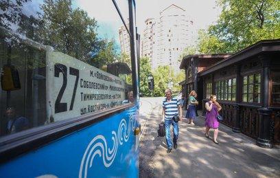 Как выглядит старейшая трамвайная остановка Москвы после реставрации
