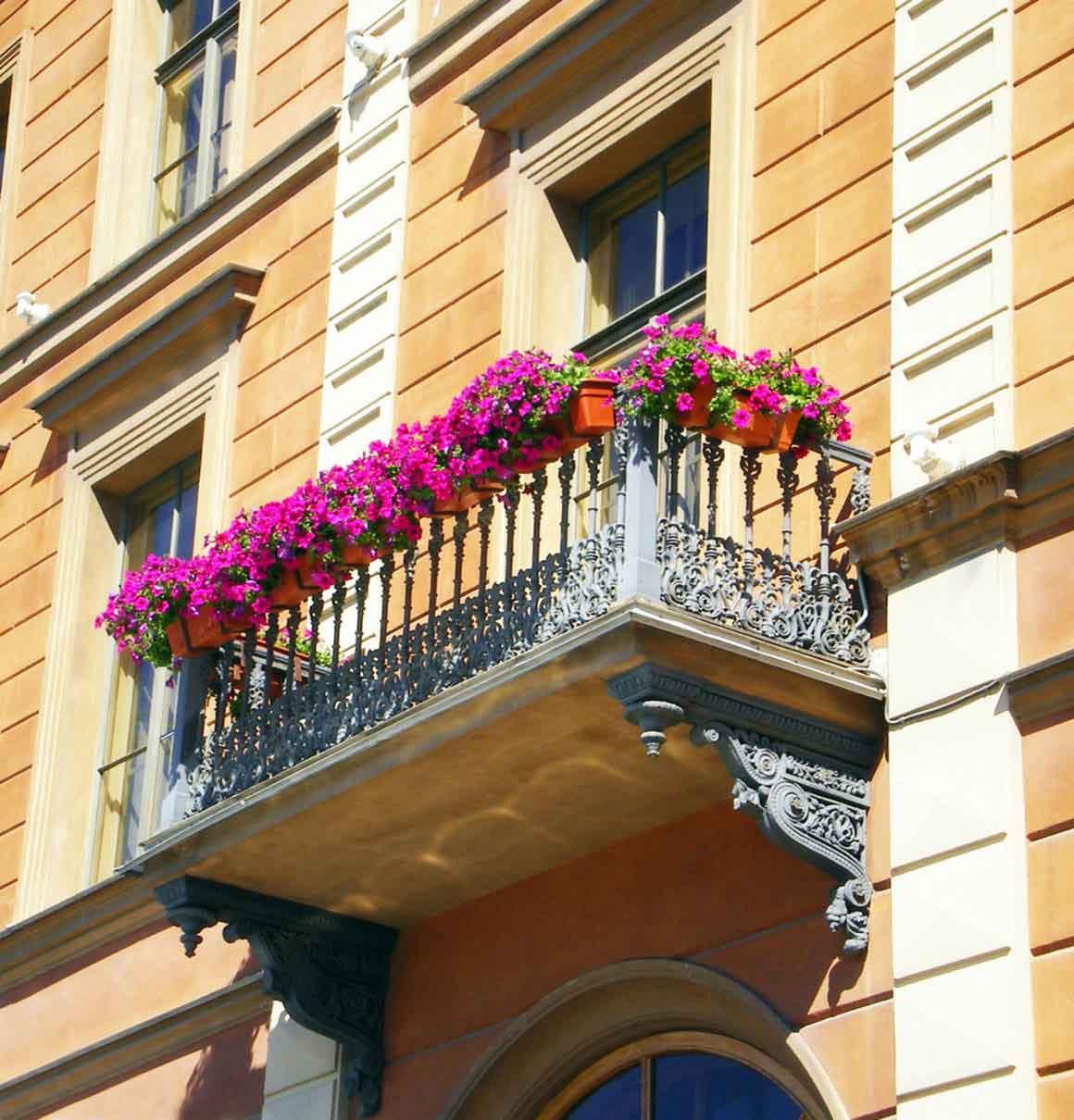 Самые красивые балконы - лучшие фото!.