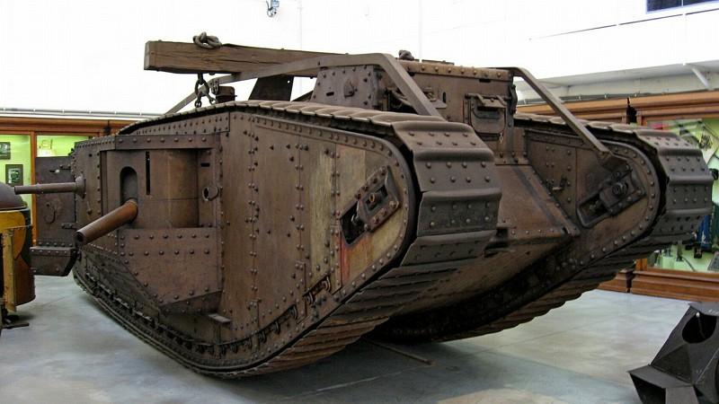 Первый танк Мк. 1