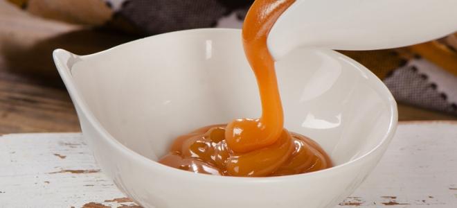 Ванильно-карамельный густой соус