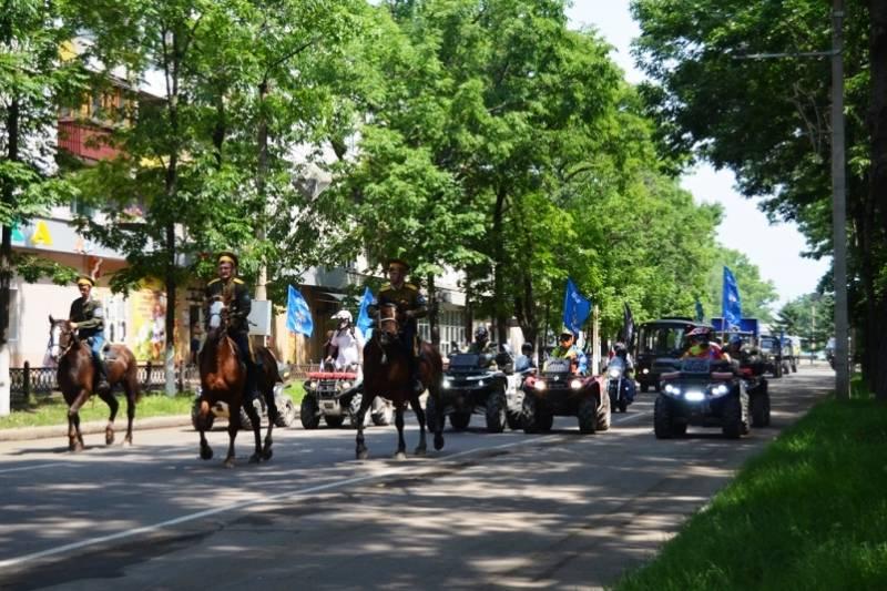 В Севастополе завершился автопробег ДОСААФ России