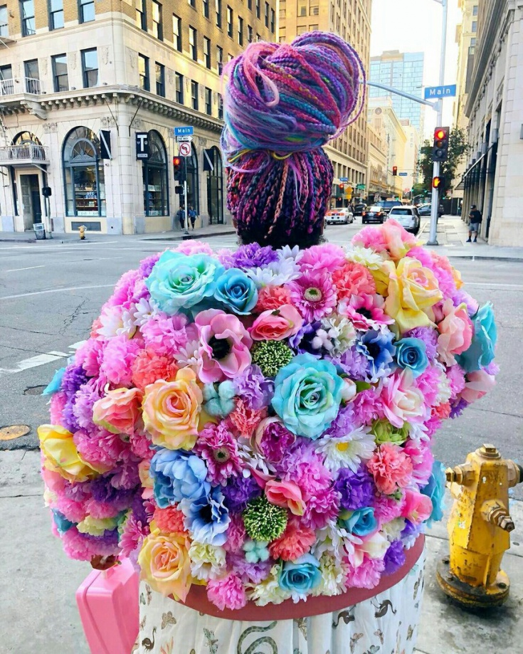 Цветочная куртка