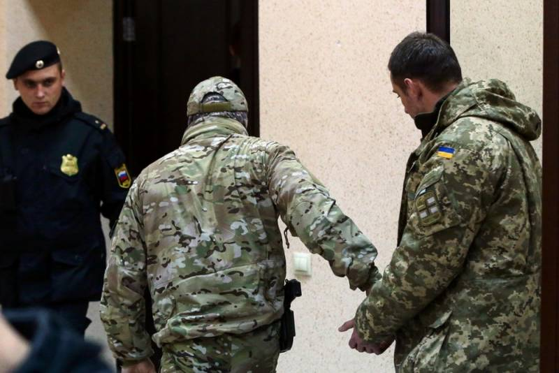Еще один украинский моряк объявил себя военнопленным