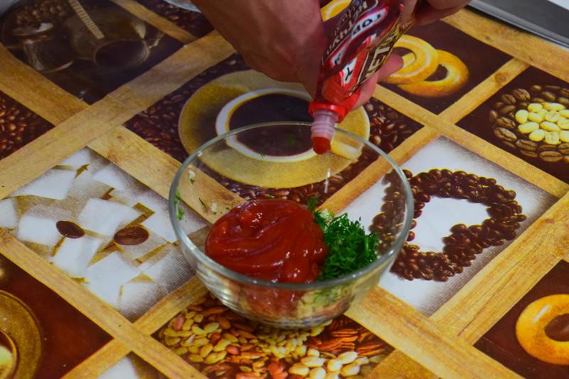 Добавляем кетчуп(или соус) чили Айдахо, видео, еда, картофель в духовке, своими руками
