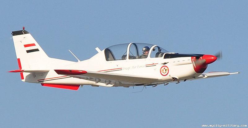 Сербские учебно-тренировочные самолеты UTVA Lasta-95N в ВВС Ирака