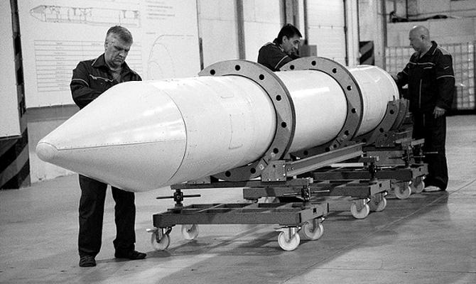В Днепропетровске сделали суборбитальную ракету для запуска британских наноспутников