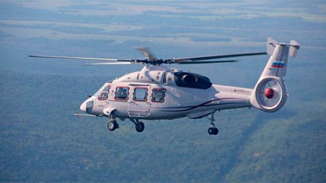 Новейший вертолет Ка-62 совершил первый перелет
