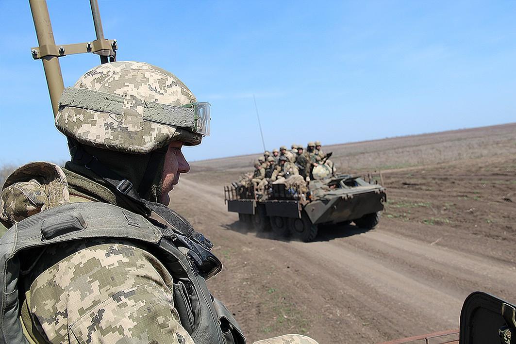 ВСУшники защитили Приазовье от «русских десантников»