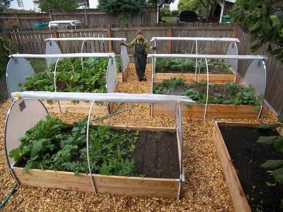 Как обустроить маленький огородик своими руками