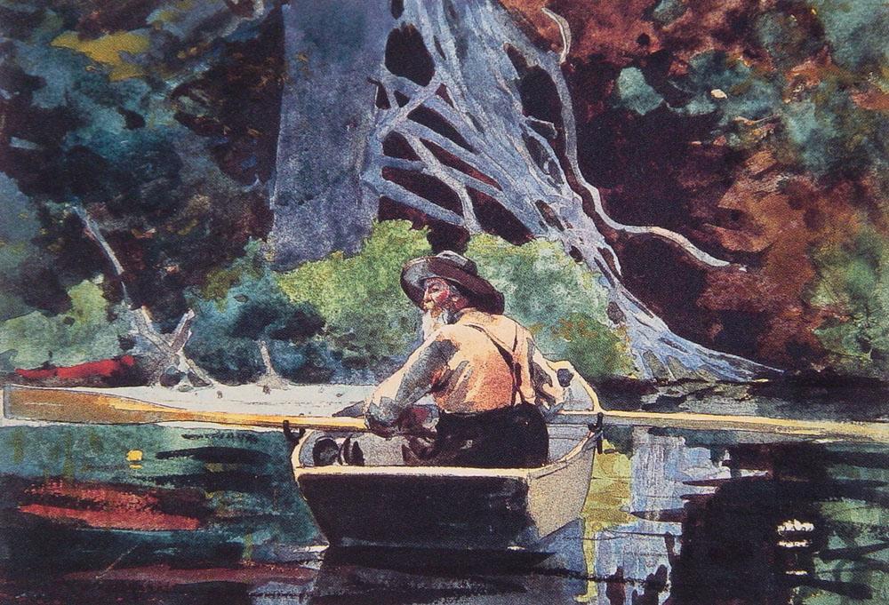 «Взгляни и в душу мне: как трепетно, как ясно в ней повторяются виденья бытия…» Американский художник Winslow Homer (1836 — 1910)