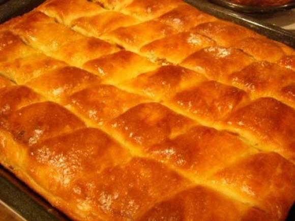 Очень вкусный воздушный мясной пирог