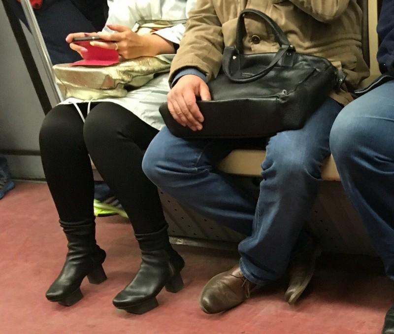 Модники из российского метрополитена люди, метро, мода