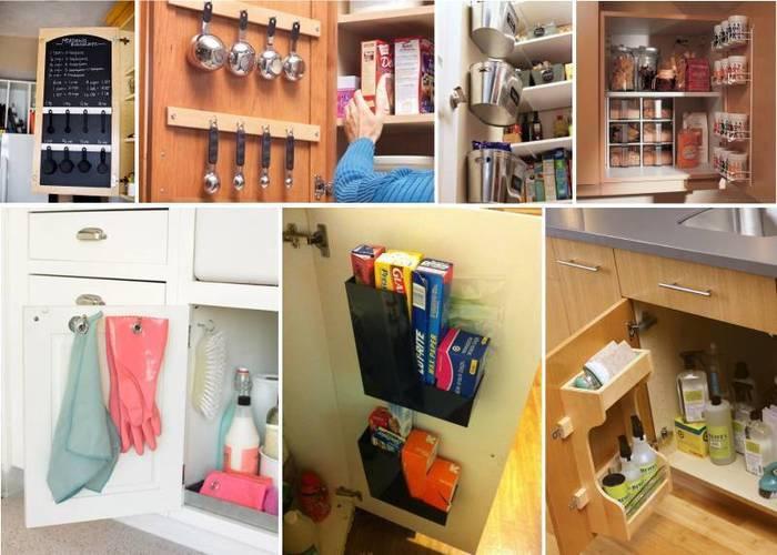 10 мест хранения на кухне, о которых вы не знали или забыли