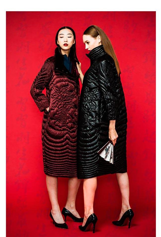 Новая мода на женские пуховики в сезоне осень-зима.