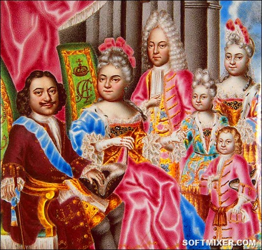 Family_of_Peter_I_of_Russia_1717