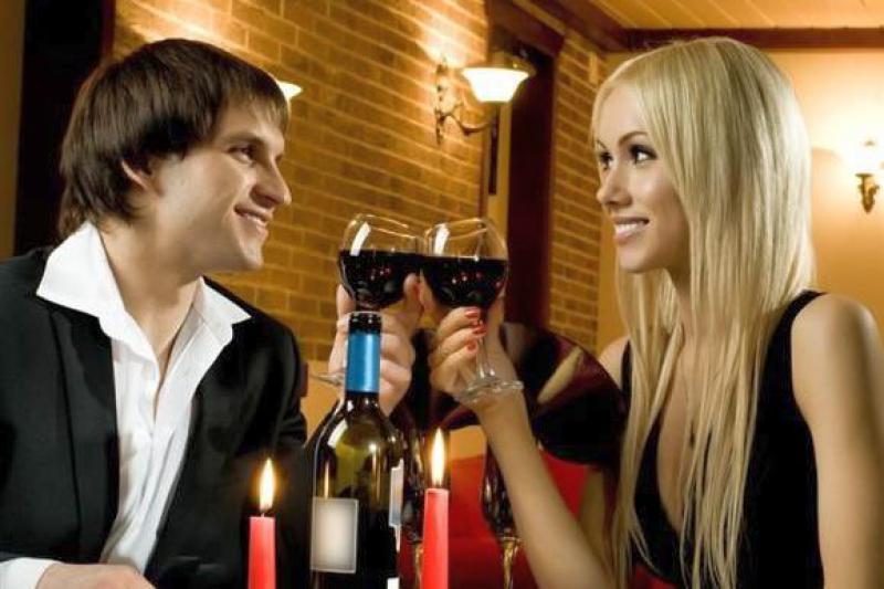 Бокал игристого вина!