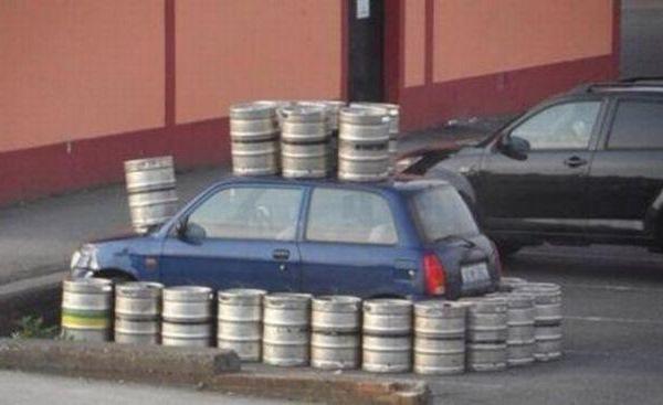 Вот как нужно бороться с хамской парковкой! 18 жестоких народных штрафов.