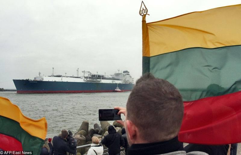 В Литву пришёл газовоз с СПГ из США