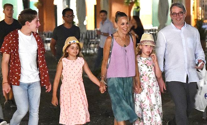 Сара Джессика Паркер с семье…