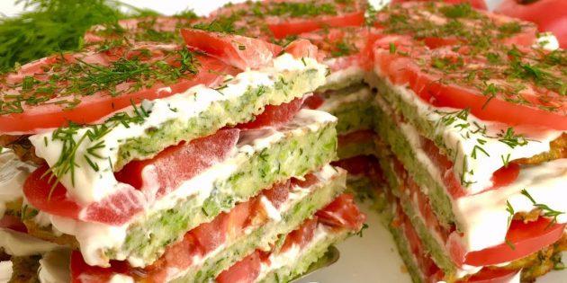 Вкусные кабачковые торты: 5 рецептов
