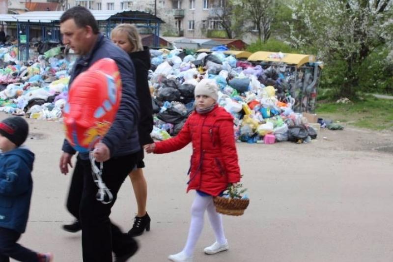 Львовский мусор имеет глубокие исторические корни: вшивыми заразными галичанами брезговали ещё большевики