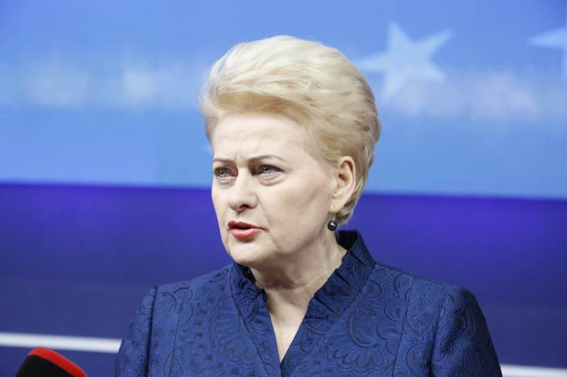 Грибаускайте: Литва извлекае…