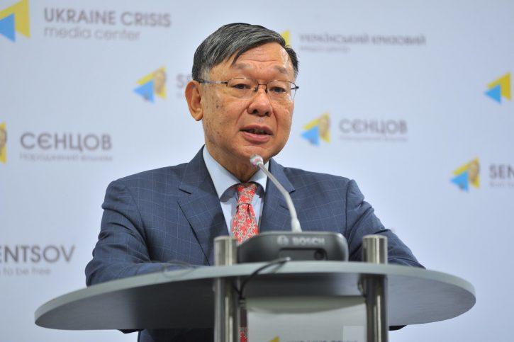 Посол Японии на Украине выступил с антироссийской речью