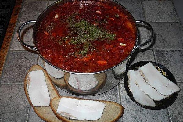 Малороссийская кухня: очень вкусный борщ. Самый правильный рецепт